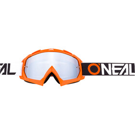 O'Neal B-10 Lunettes de protection, twoface orange-mirror silver